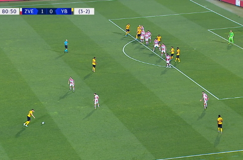 Goal: Crvena Zvezda 1 - 1 Young Boys 81' Janko