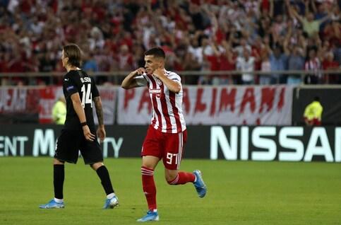 Résumé Krasnodar - Olympiakos