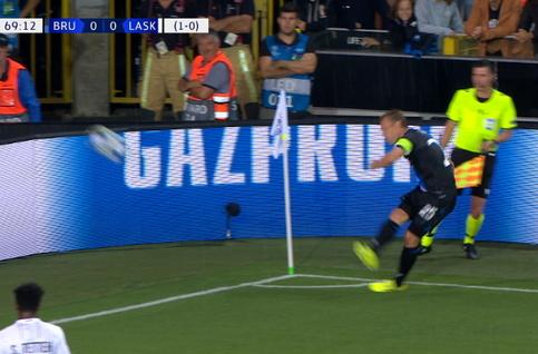 Goal: Club Brugge 1 - 0 Linz ASK 70' Vanaken