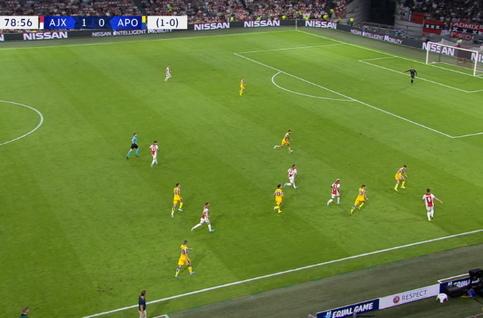 Goal: AFC Ajax 2 - 0 Apoel Nicosia 80' Tadic