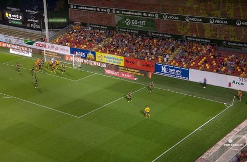 Goal: KV Mechelen 1 - 0 Moeskroen 19', De Camargo