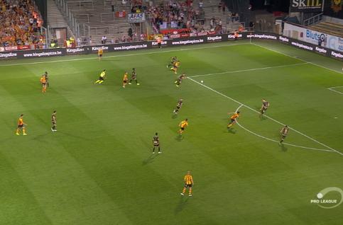Goal: KV Mechelen 2 - 1 Moeskroen 29', Kaya
