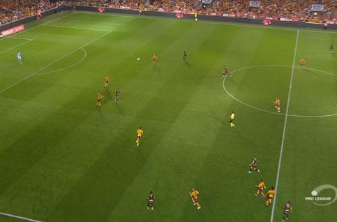 Goal: KV Mechelen 1 - 1 Moeskroen 28', Allagui