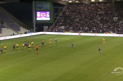 Goal: Beerschot 1 - 0 Union Saint Gilloise 75', Placca