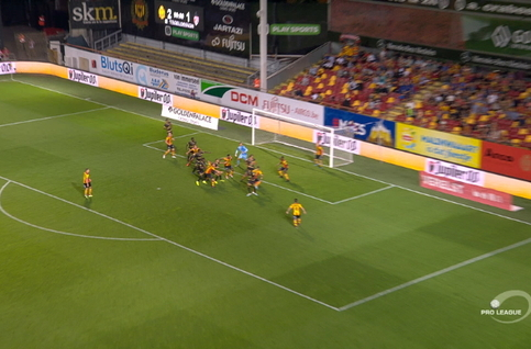 Goal: KV Mechelen 2 - 2 Moeskroen  90', De Medina