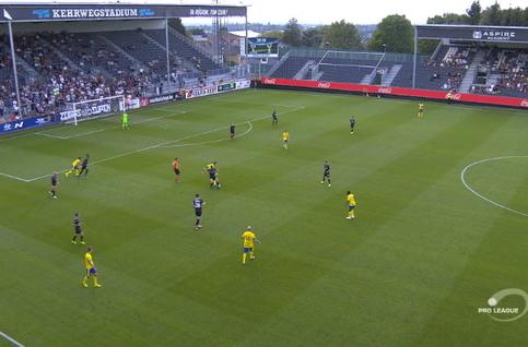 Goal: Eupen 0 - 1 Saint-Trond 40' Boli