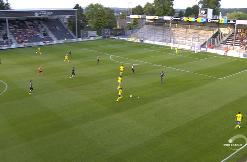 Goal: Eupen 0 - 2 Saint-Trond 59' Boli