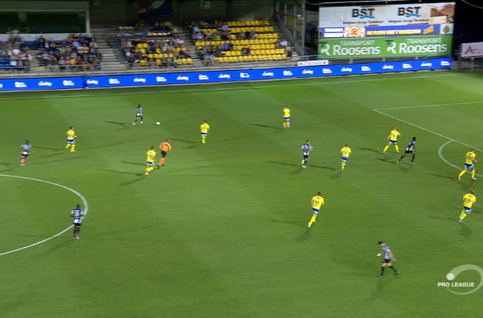Goal: Waasland-Beveren 0 - 1 Charleroi 38' Morioka