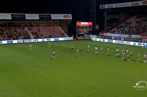 Goal: Courtrai 2 - 1 Ostende 74' De Sart