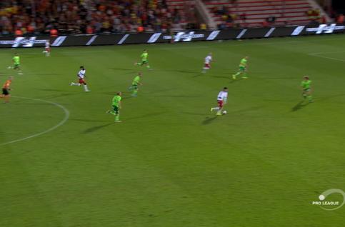 Goal: Courtrai 1 - 1 Ostende 67' Ocansey