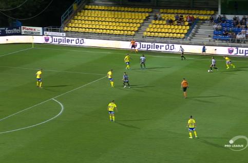 Goal: Waasland-Beveren 0 - 2 Charleroi 52' Bruno