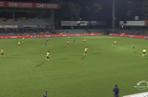 Goal: Lommel SK 1 - 0 Union Saint Gilloise 23' Naudts