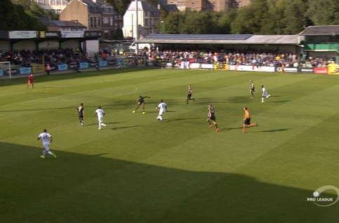 Goal: RE Virton 2 - 0 KSC Lokeren 55' Koré