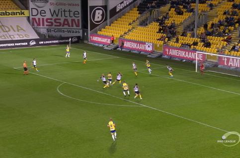 Goal: KSC Lokeren 0 - 1 KVC Westerlo 28' Abrahams