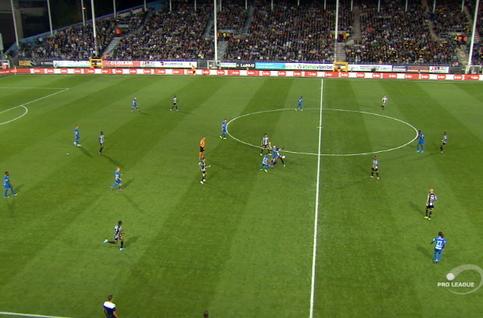 Goal: Sporting Charleroi 2 - 0 KRC Genk 29' Nicholson