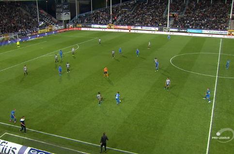 Goal: Sporting Charleroi 2 - 1 KRC Genk 61' Onuachu