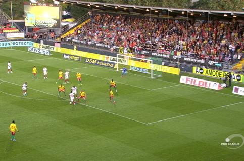 Goal: Ostende 1 - 2 Standard 54', Bastien
