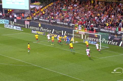 Goal: KV Oostende 1 - 4 Standard 80', Cimirot