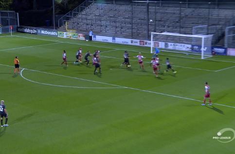 Goal: Eupen 1 - 1 SV Zulte Waregem 64', Jon