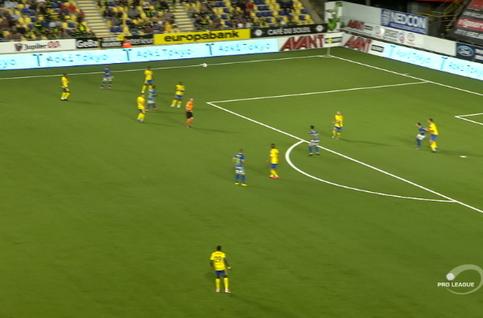 Goal: STVV 0 - 1 Waasland-Beveren 62', Dierckx