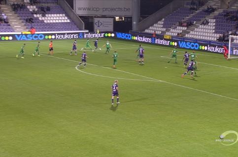 Goal: Beerschot 1 - 0 Lommel SK 59', Vorogovskiy