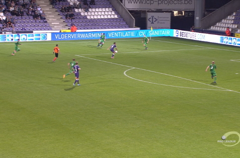 Goal: Beerschot 2 - 0 Lommel SK 76',Tissoudali