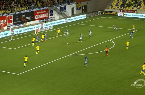 Goal: STVV 1 - 1 Waasland-Beveren 90', Teixeira