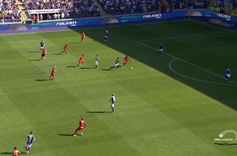 Goal: RSC Anderlecht 0 - 1 Royal Antwerp 49', Refaelov