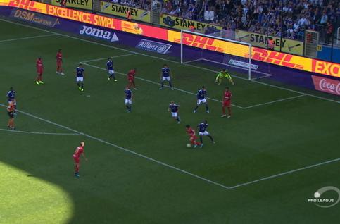 Goal: RSC Anderlecht 1 - 2 Royal Antwerp 87', Miyoshi