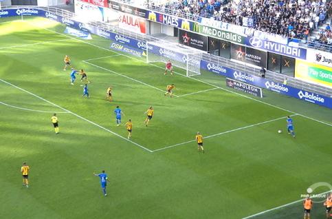 Goal: KAA Gent 2 - 0 KV Mechelen 31', David