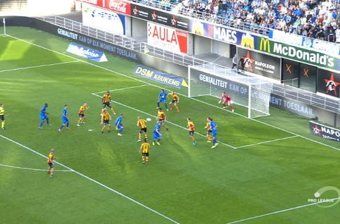 Goal: KAA Gent 3 - 0 KV Mechelen 45', Depoitre