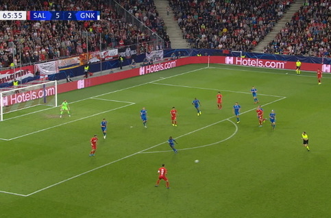 Goal: Red Bull Salzburg 6 - 2 KRC Genk 66', Ulmer