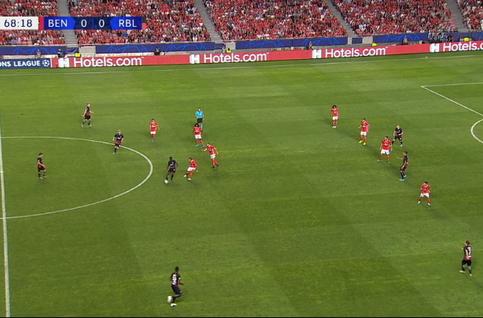 Goal: Benfica 0 - 1 RB Leipzig 69', Werner