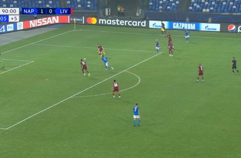 Goal: SSC Napoli 2 - 0 Liverpool 90', Llorente