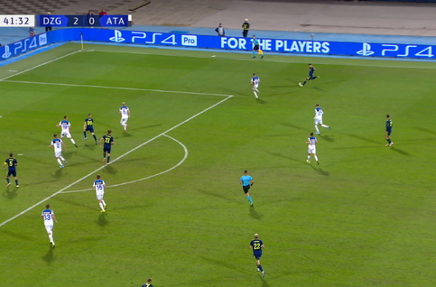 Goal: Dinamo Zagreb 3 - 0 Atalanta Bergame 42', Orsic