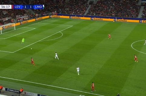 Goal: Bayer Leverkusen 1 - 2 Lokomotiv Moscou 37', Barinov