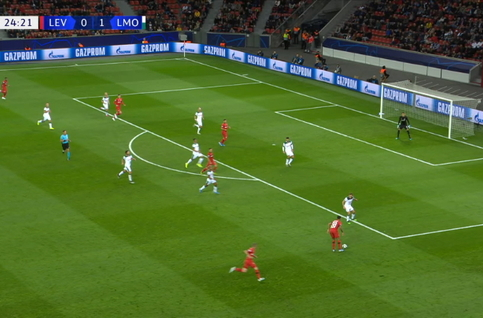 Own goal: Bayer Leverkusen 1 - 1 Lokomotiv Moscou 25', Howedes
