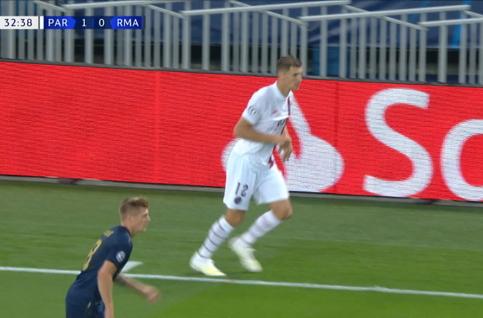 Goal: Paris SG 2 - 0 Real Madrid 33', Di Maria