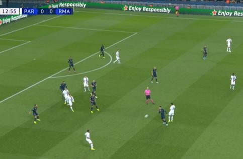 Goal: Paris SG 1 - 0 Real Madrid 14', Di Maria