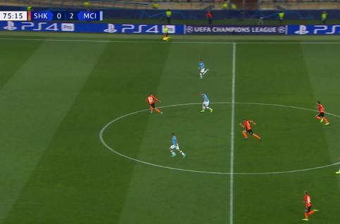 Goal: Sjachtar Donetsk 0 - 3 Manchester City 76', Gabriel Jesus
