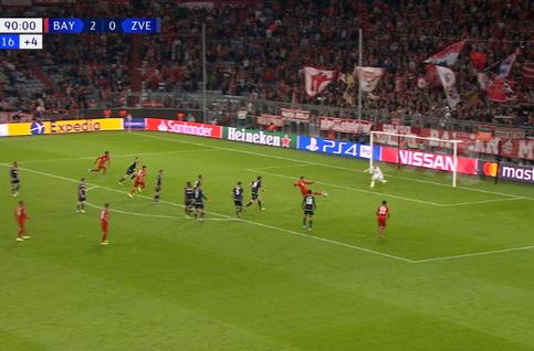 Goal: Bayern Munich 3 - 0 Crvena Zvezda 90', Muller
