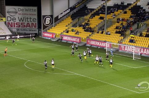 Goal: KSC Lokeren 1 - 0 Roeselare 31', Van Damme