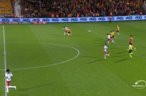Goal: KV Kortrijk 1 - 2 KV Mechelen 58', Schoofs