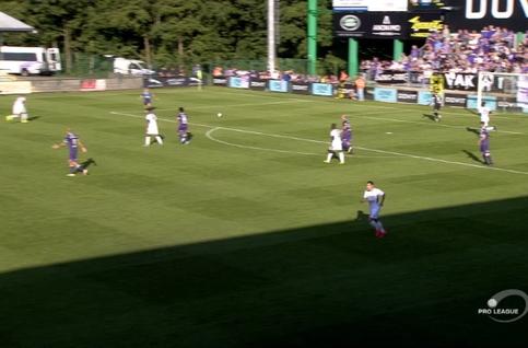 Goal: RE Virton 1 - 0 Beerschot 25', Couturier