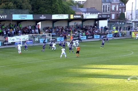 Goal: RE Virton 3 - 0 Beerschot 84', Cruz