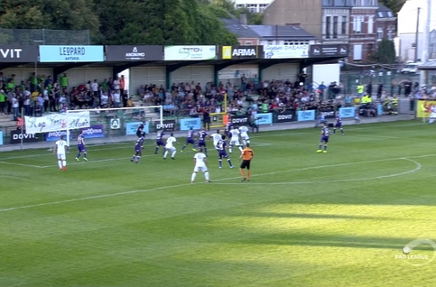 Goal: RE Virton 3 - 0 Beerschot 84', Cruz