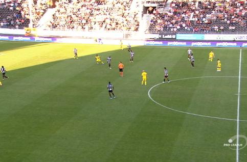 Goal: Charleroi 0 - 1 Saint-Trond 34', Suzuki