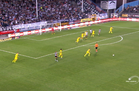 Goal: Sporting Charleroi 0 - 3 STVV 90', Boli