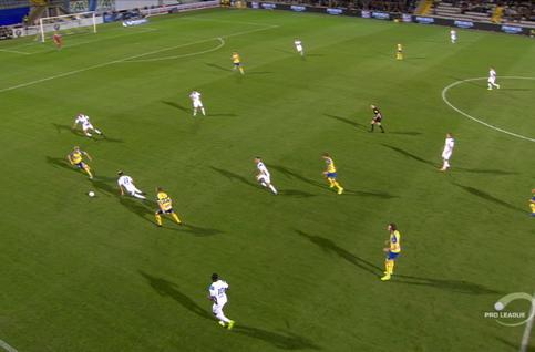 Goal: KVC Westerlo 1 - 0 Union Saint Gilloise 14', Abrahams