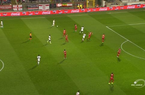 Own goal: Royal Antwerp 1 - 1 Cercle Brugge 35', Arslanagic